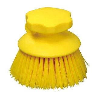 【まとめ買い10個セット品】HPハンドブラシ 丸型 イエロー 55863【 清掃・衛生用品 】 【ECJ】