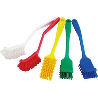 【まとめ買い10個セット品】HPディッシュブラシ ワイド ブルー 55835【 清掃・衛生用品 】 【ECJ】