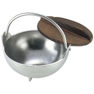 【まとめ買い10個セット品】 【業務用】アルミ 白仕上 田舎鍋 18cm