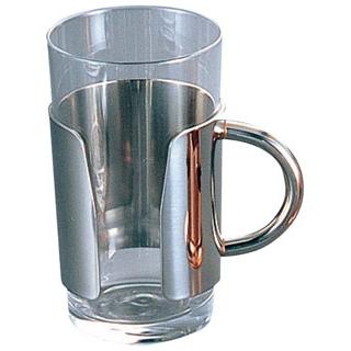 【まとめ買い10個セット品】 【業務用】UK 18-8 ロイヤル グラスホルダーB NO.0020 10・8oz用