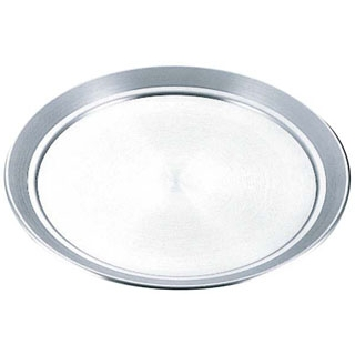 【まとめ買い10個セット品】 【業務用】アルミ サービス盆(ピザ皿)44cm