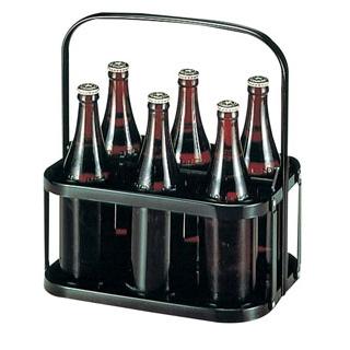 【まとめ買い10個セット品】ボトルキャリア 6本入 NK-01【 運搬・ケータリング 】 【ECJ】