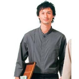 【まとめ買い10個セット品】 【業務用】シャツ(男女兼用)KY0067-2 灰色 L