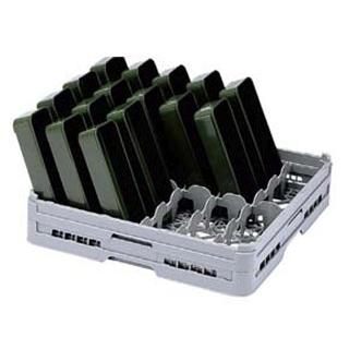 【まとめ買い10個セット品】 【業務用】BK フル テーブルウェアラック12仕切 T-12-115