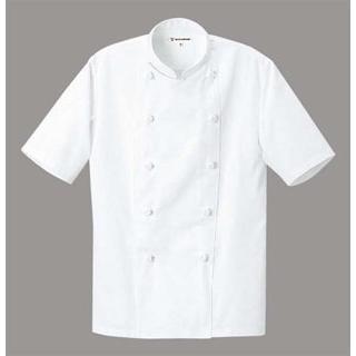 【まとめ買い10個セット品】 【業務用】コックコート(男女兼用)AA499-0 ホワイト LL