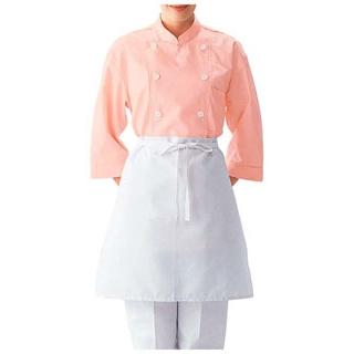 【まとめ買い10個セット品】 【業務用】コックシャツ(男女兼用)BA1208-2 ライトピンク L