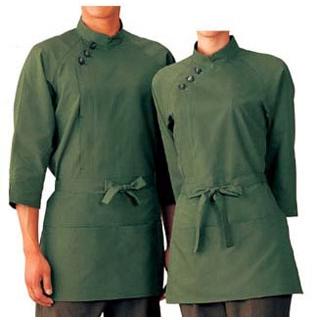 【まとめ買い10個セット品】 【業務用】コート(男女兼用)EA3009-4 緑 SS