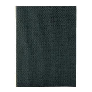 【まとめ買い10個セット品】 【業務用】えいむ 麻タイプメニューブック PB-802 中 B5