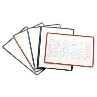 【まとめ買い10個セット品】 【業務用】えいむ 洋風メニューブック用中紙 大(A4)(10枚入)