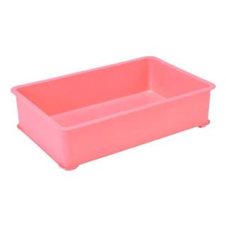 【まとめ買い10個セット品】 【業務用】EBM PPカラー番重 A型 大 ピンク(サンコー製)