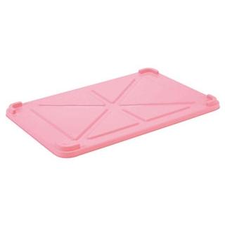 【まとめ買い10個セット品】 EBM PPカラー番重 蓋 小 ピンク(サンコー製) 【ECJ】【 運搬・ケータリング 】