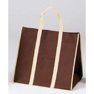 【まとめ買い10個セット品】ファインビュー不織布バッグ(10枚入)中 ブラウン【 厨房消耗品 】 【ECJ】