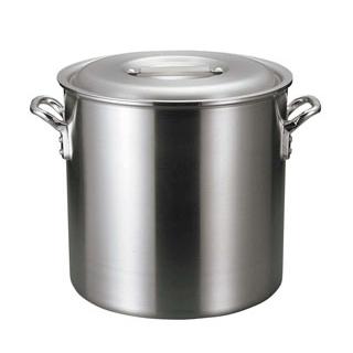 【まとめ買い10個セット品】 【業務用】アルミ バリックス 寸胴鍋(磨き仕上げ)21cm