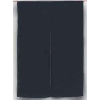【まとめ買い10個セット品】 【業務用】綿麻無地 のれん 001-05 紺 850×1200