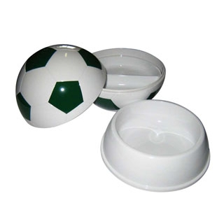 【まとめ買い10個セット品】 【業務用】お子様ランチ皿 サッカーボール 大(仕切付)グリーン