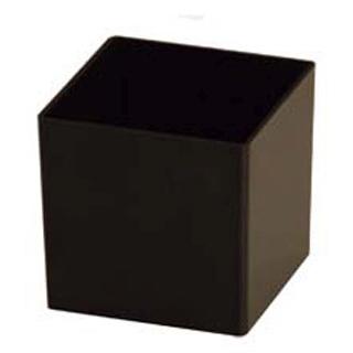 【まとめ買い10個セット品】ソリア ミニキューブ 60ml(200入)ブラック PS30323【 ビュッフェ・宴会 】 【ECJ】