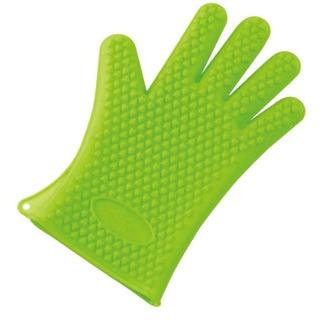 【まとめ買い10個セット品】 【業務用】5本指クッキンググローブ(1枚)グリーン