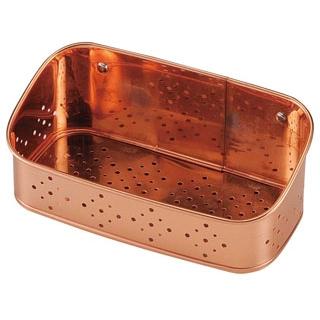 【まとめ買い10個セット品】 【業務用】銅 洗剤タワシ入れ 18cm