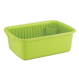 【まとめ買い10個セット品】 【業務用】ポゼ 水切りセット グリーン 中 4309