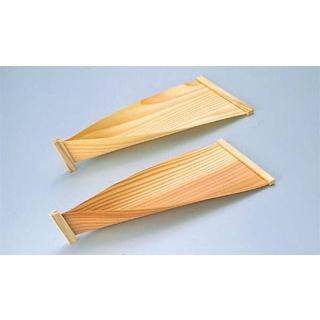 【まとめ買い10個セット品】 【業務用】杉板 懐石舟 9寸(10ヶ入)