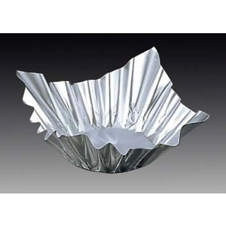 【まとめ買い10個セット品】アルミ すき鍋 銀 M33-244(100枚入)小【 卓上鍋・焼物用品 】 【ECJ】