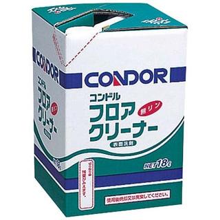 【まとめ買い10個セット品】 コンドル フロア用クリーナー 洗剤 4L 【ECJ】【 清掃・衛生用品 】
