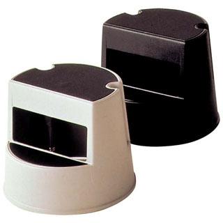【まとめ買い10個セット品】 【業務用】ラバーメイド ステップスツール 丸型 2523 ブラック 【20P05Dec15】