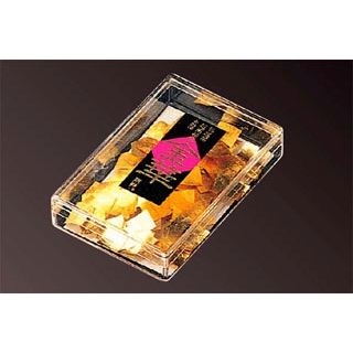 【まとめ買い10個セット品】 【業務用】金箔 正方角箔(3mm)純金製(64225)