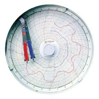 温湿度記録計 温湿きろく君 KC10-WM(32日用)【 温度計 】 【ECJ】