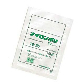 【まとめ買い10個セット品】 【業務用】真空包装対応規格袋 ナイロンポリ TLタイプ(100枚入)18-26 180×260