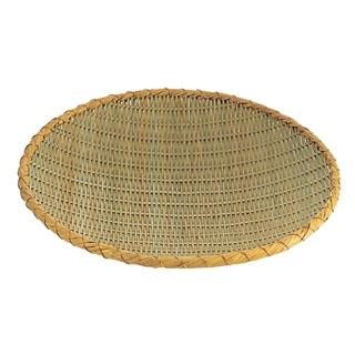 【まとめ買い10個セット品】佐渡製 竹 ためザル 60cm【 水切り・ザル 】 【ECJ】