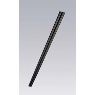 【まとめ買い10個セット品】 【業務用】SPSカラー樹脂箸22.6cm 四角(100膳入)すべり止め付 黒