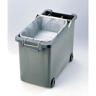【まとめ買い10個セット品】 【業務用】強化耐熱プラスチック フライヤー用 油缶(カゴ付) 【20P05Dec15】