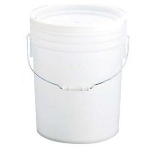 【まとめ買い10個セット品】 【業務用】トスロン 丸型 密閉容器 20L(ナチュラル・ソフト)