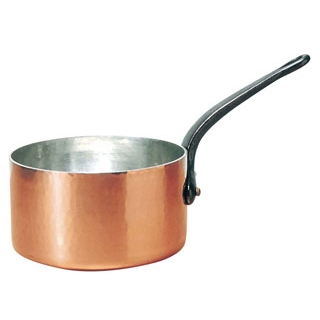 ムヴィエール 銅 キャセロール(蓋無)2143-16 16cm【 ガス専用鍋 】 【ECJ】