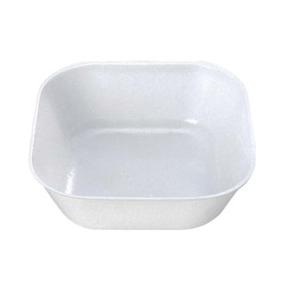【まとめ買い10個セット品】プラカップ 白(大)角型 TZ-5(500枚入)【 厨房消耗品 】 【ECJ】