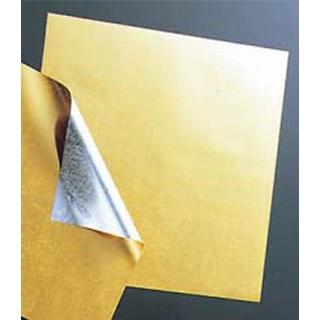 【まとめ買い10個セット品】 【業務用】金箔調懐紙(500枚入)M30-596 240mm