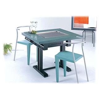 【業務用】電気式 鉄板焼テーブル 和卓 YBE-9736【 メーカー直送/代金引換決済不可 】