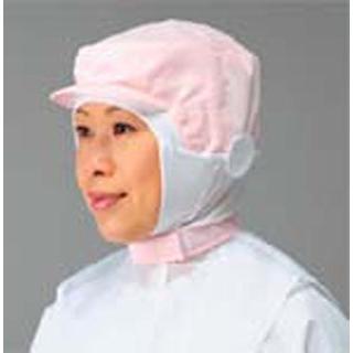【まとめ買い10個セット品】 【業務用】頭巾帽子 ケープ付タイプ 9-1014 ピンク L