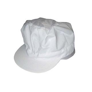 【まとめ買い10個セット品】頭巾帽子 八角タイプ 9-1065 白 フリーサイズ【 ユニフォーム 】 【ECJ】