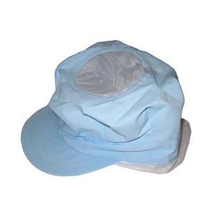 【まとめ買い10個セット品】頭巾帽子 八角タイプ 9-1066 ブルー フリーサイズ【 ユニフォーム 】 【ECJ】