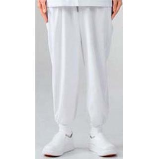 【まとめ買い10個セット品】 【業務用】男女兼用パンツ 7-521 白 L