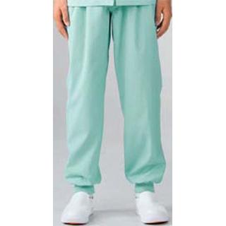 【まとめ買い10個セット品】 【業務用】男女兼用パンツ 7-523 グリーン S