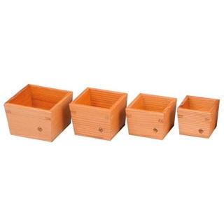 【まとめ買い10個セット品】 【業務用】木製 枡(大)76×76×H60