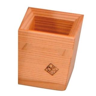 【まとめ買い10個セット品】木製 盃 千代口 40×40×H45【 グラス・酒器 】 【ECJ】
