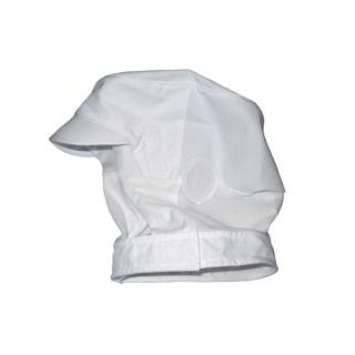 【まとめ買い10個セット品】 【業務用】頭巾帽子 ショートタイプ 9-1016 白 M