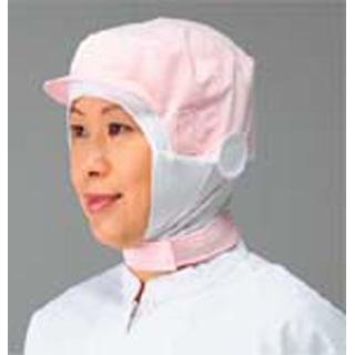 【まとめ買い10個セット品】 【業務用】頭巾帽子 ショートタイプ 9-1019 ピンク LL