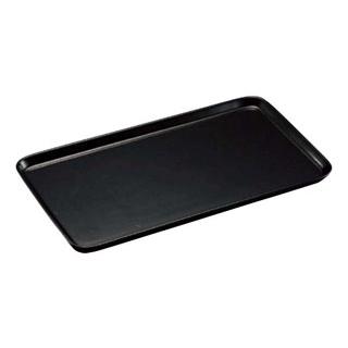 【まとめ買い10個セット品】陶磁器 角ケーキプレート 黒【 ディスプレイ用品 】 【ECJ】