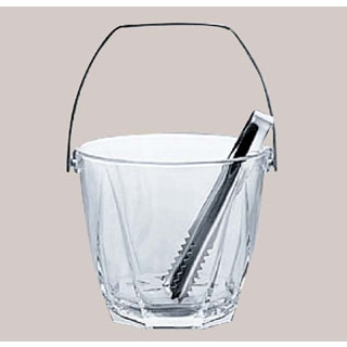 【まとめ買い10個セット品】 【業務用】ガラス アイスペール サージュ M-6830