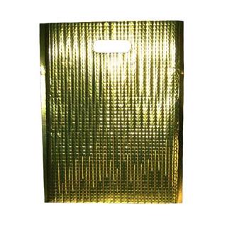 【まとめ買い10個セット品】 【業務用】保冷・保温バッグ エスケークール ゴールド(10枚入)LC-S